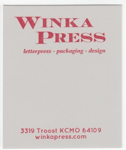 Crane's Crest Moonstone Grey 90# Cover with Red ink