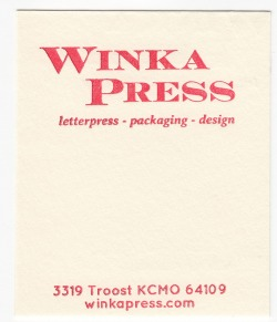 Crane's Lettra Ecru White 110# Cover with Red ink