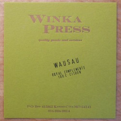 Warm Gold ink Citron cardstock