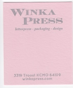 Mr.French Pop-tone Pink Lemonade 140# Cover with Silver ink