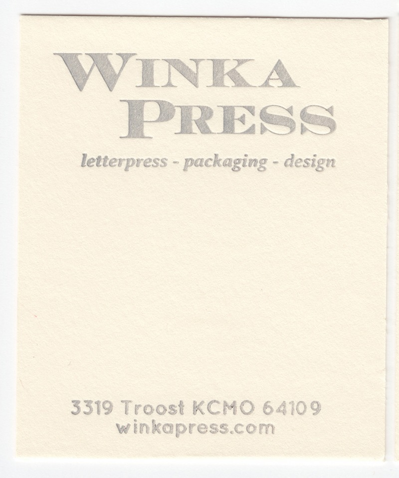 Crane's Lettra Ecru White 110# Cover with Silver ink