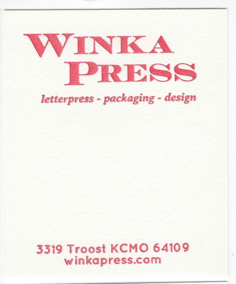 Crane's Lettra Pearl White 110# Cover with Red ink