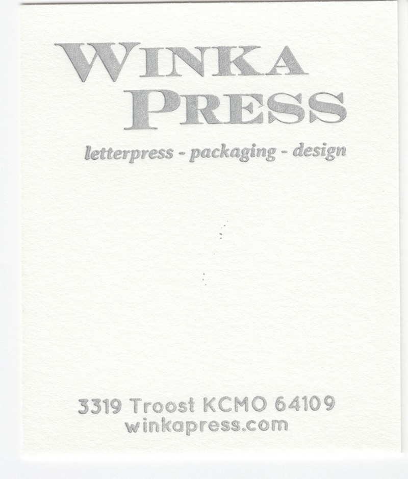 Crane's Lettra Pearl White 110# Cover with Silver ink