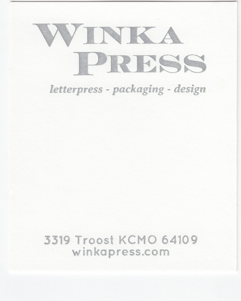 Mr.French Smart White 140# Cover with Silver ink