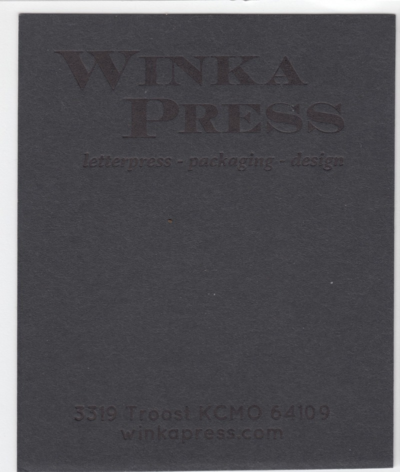 Mr.French Speckletone Black 140# Cover with Black ink