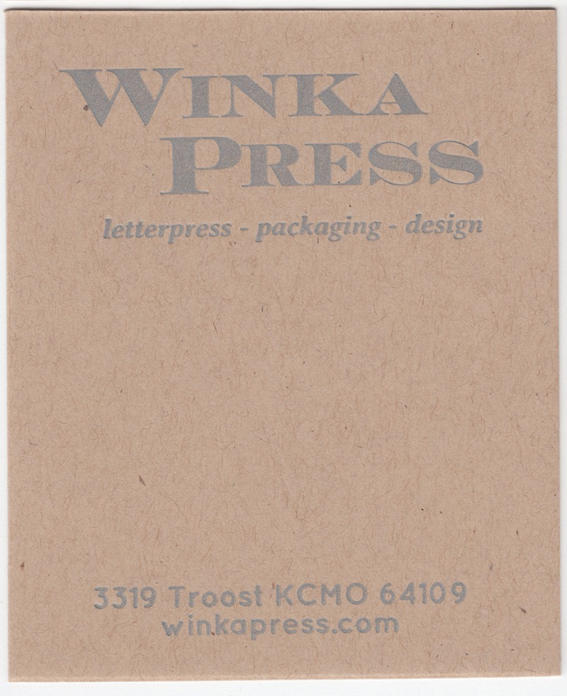 Mr.French Speckletone Kraft 140# Cover with Silver ink